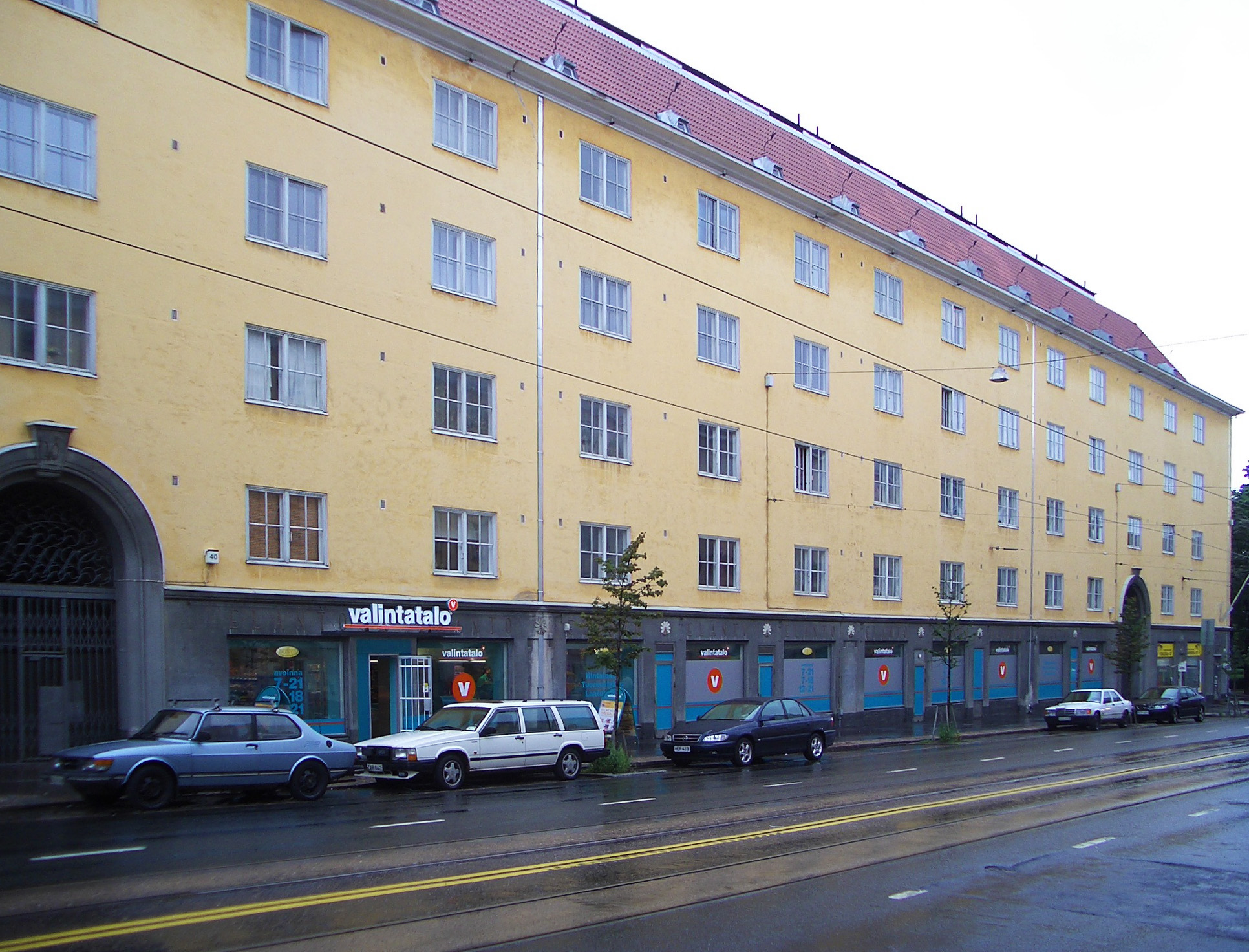 Valintatalo Sturenkatu 40 · Arkkigraf